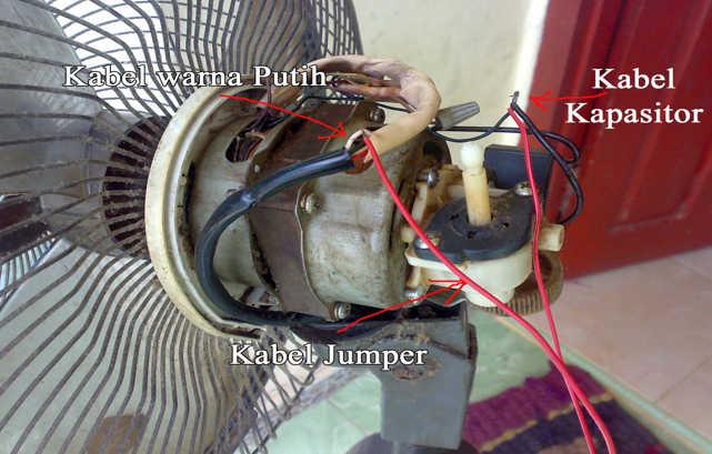 Cara Memperbaiki Kipas Angin Mati Total Elektronik Learn