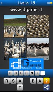 PACCHETTO 7 Soluzioni Trova la Parola - Foto Quiz con Immagini e Parole livello 15