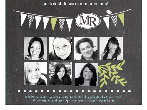Maya Road Design Team Announcement and a Gossamer Blue Layout Share
