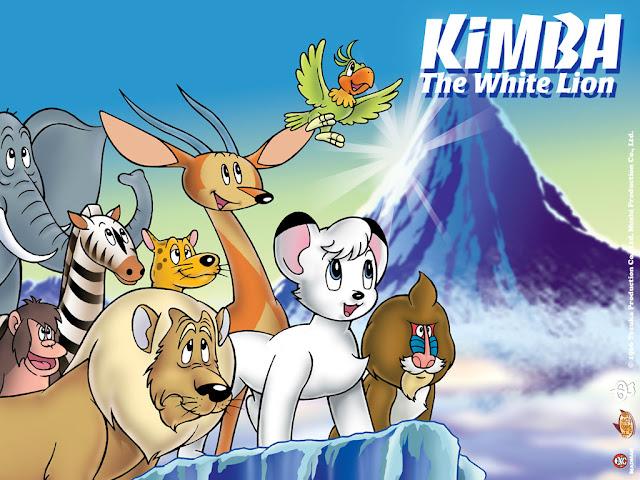 El león Kimba, una de las obras de Tezuka Osamu