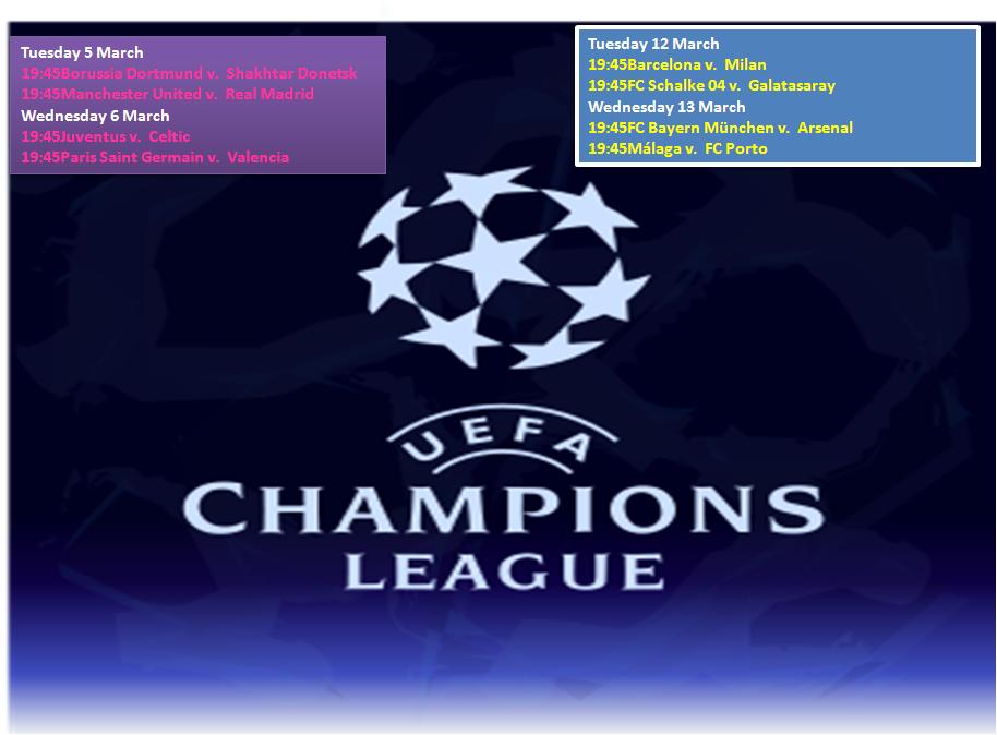 champions league fixtures - photo #23