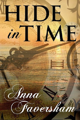 Review and recommendation of the book, Hide in Time by Anna Faversham.  A riveting book that includes time travel, romance, and a very unique twist for doppelgangers exchanging places in time.