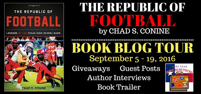 The Republic of Football Book Blog Tour: Interview with Author Chad S. Conine #LoneStarLit