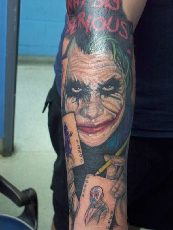 joker tattoo designs pictures - photo #19
