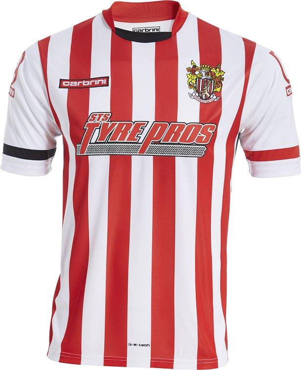 Carbrini apresenta novas camisas do Stevenage FC - Show de Camisas 69a8f2bf53ae2