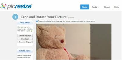 موقع تقطيع وتصغير الصور اون لاين - Cut Photo Size Online