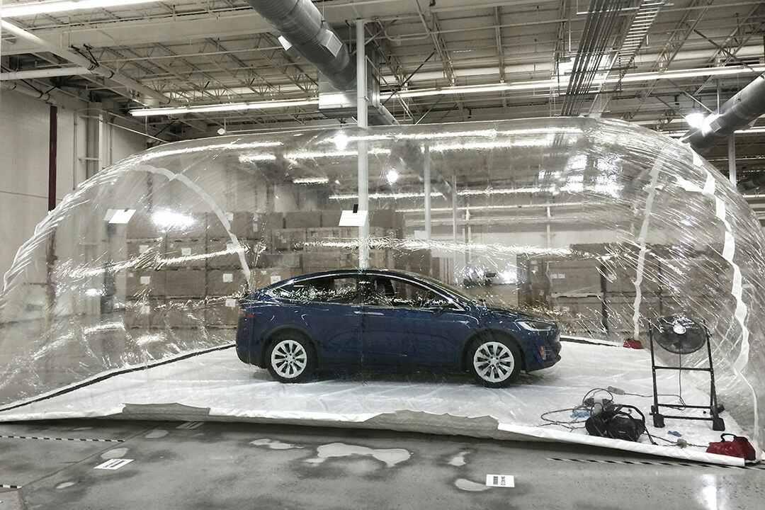 Tesla Model X Bioweapon Defense Mode experiment
