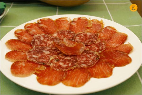 Surtido de ibéricos en Restaurante Moncholi Madrid Ibiza