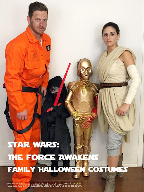 Star Wars The Force Awakens Family Halloween Costumes  sc 1 st  Fab Everyday & Fab Everyday | Because Everyday Life Should be Fabulous | www ...