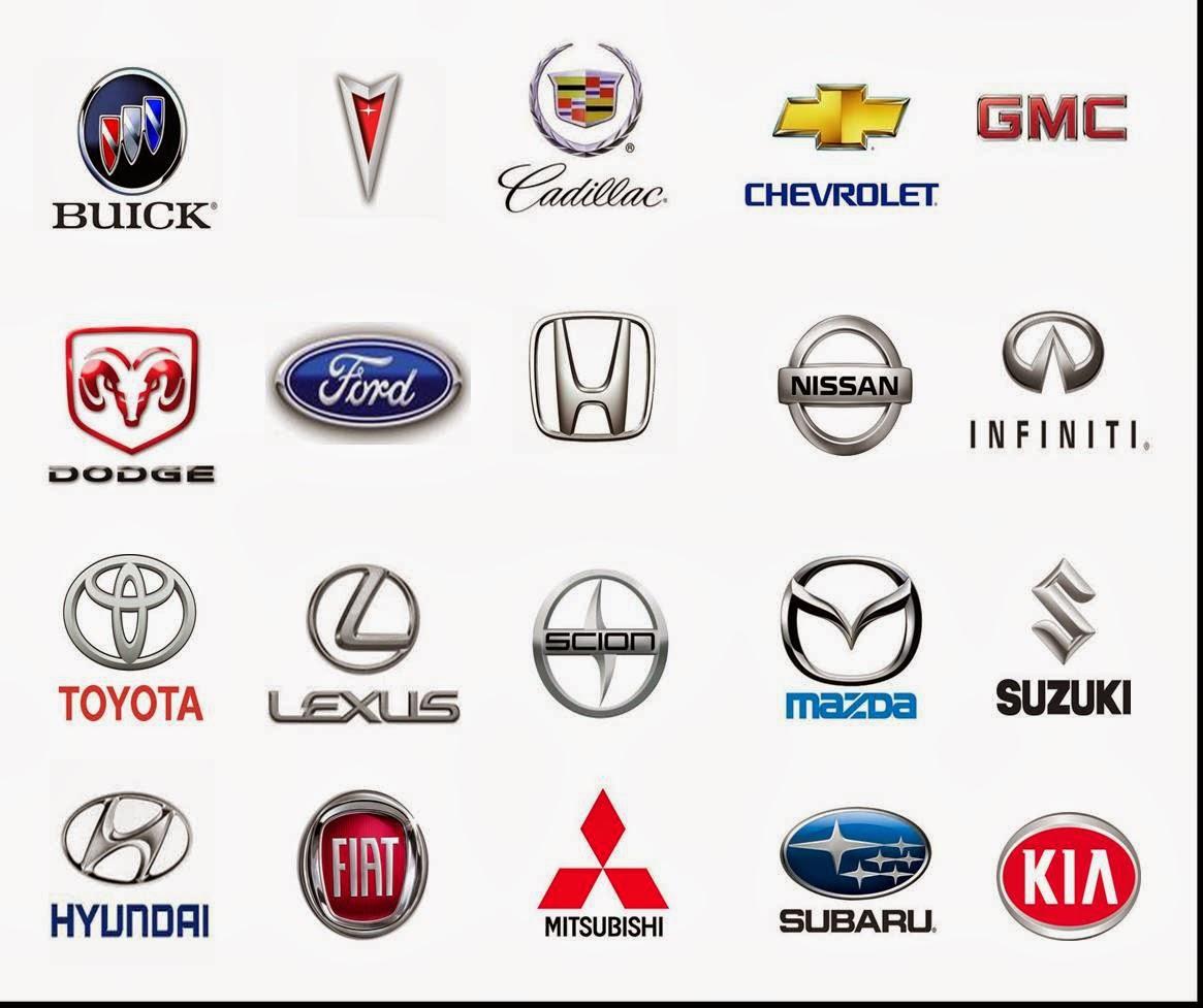 rare car logos and names