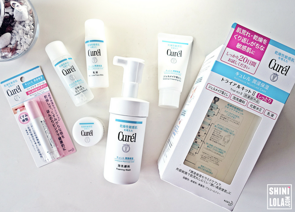 CUREL - DAILY SKIN & LIP CARE ROUTINE