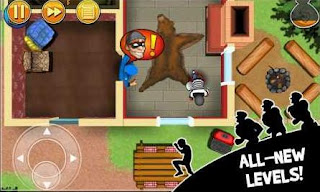 Robbery Bob Mod Apk v1.18 Data Unlimited Money for android Update