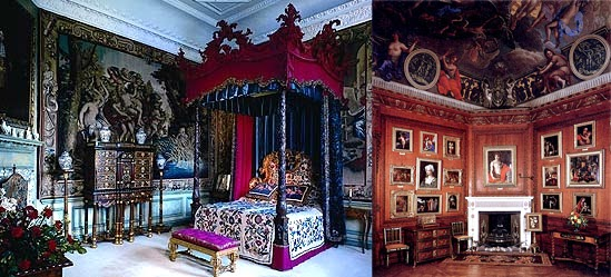 Burghley - Blue Silk Bedroom and George Room