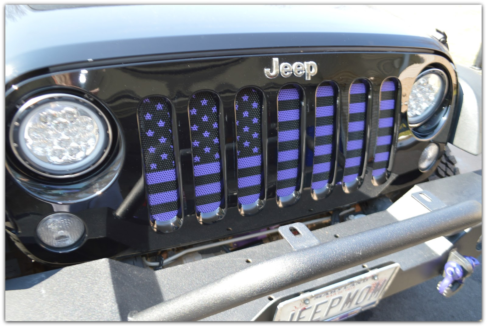 Jeep Momma Blog My New Grille
