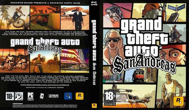 كلمات سر لعبة GTA San Andreas للكمبيوتر