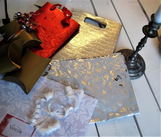 joulu, lahjapaperi, lahjapaketti