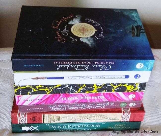 VEDA, livros, darkside-editora, jack-o-estripador, frankenstein, dark-love