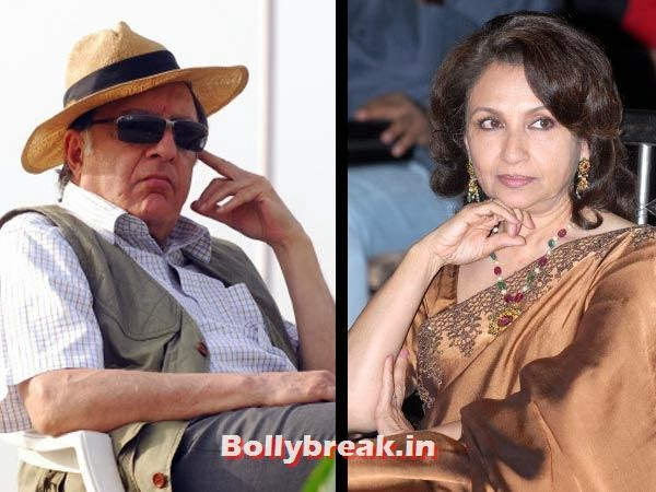 Tiger Pataudi & Sharmila Tagore:  Aka Mansoor Ali  Khan, the last Nawab of Pataudi who once captained the Indian cricket  team wed Aradhana, Amar Prem and Daag actress Sharmila Tagore in the  winter of 1969. Two of their three kids — Saif Ali and Soha Ali Khan —  have followed suit in their mother's footsteps.