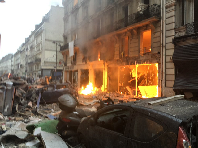 Powerful Blast At Paris Bakery