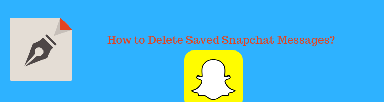 How to delete messages on snapchat that the other person saved