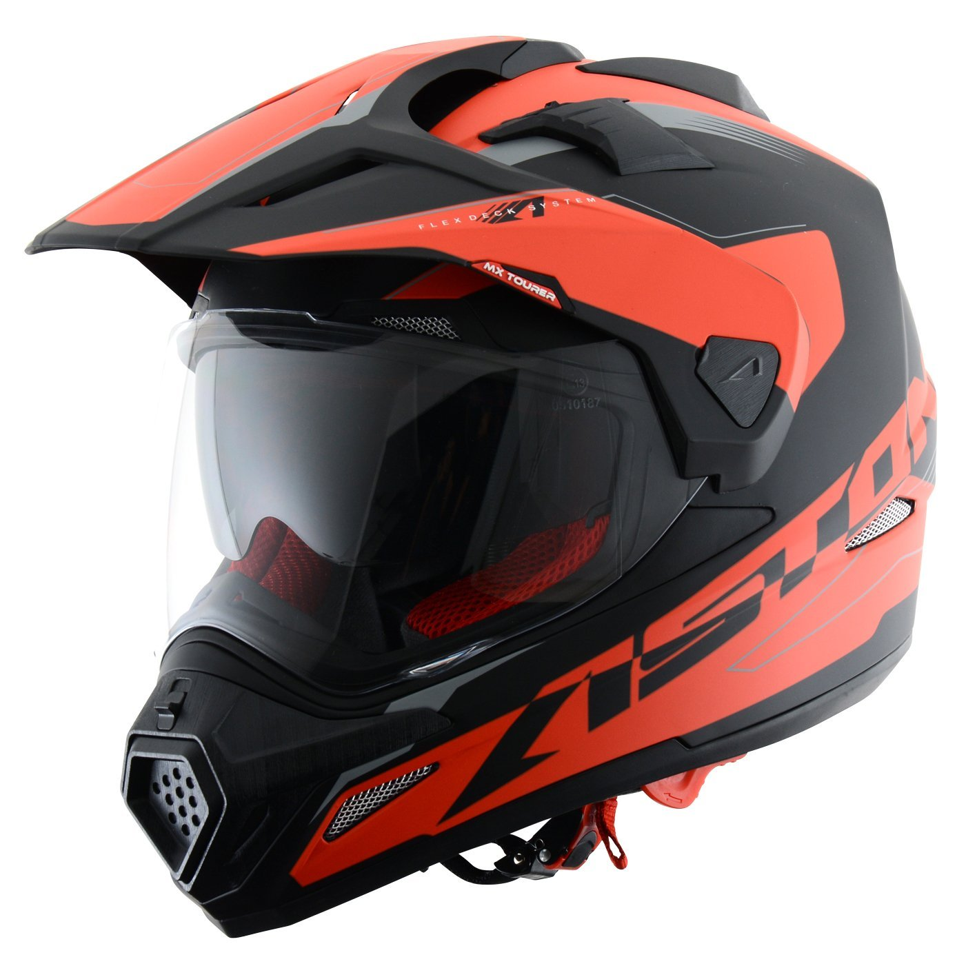 Astone Helmets Tourer Adventure, color Rojo