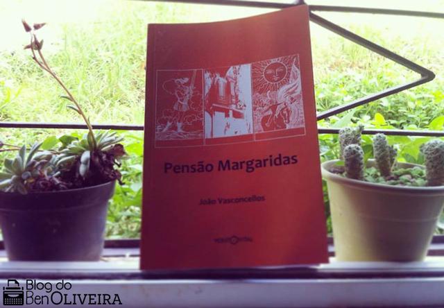 Livro Pensão Margaridas João Vasconcellos