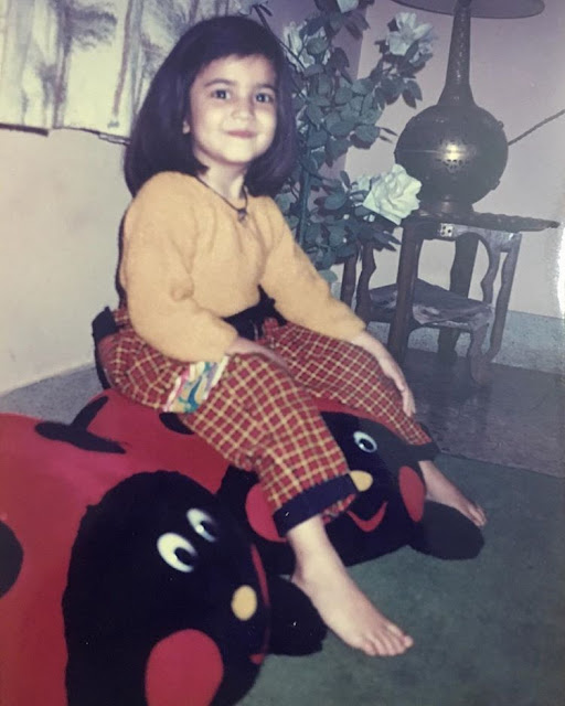 Kriti In Childhood