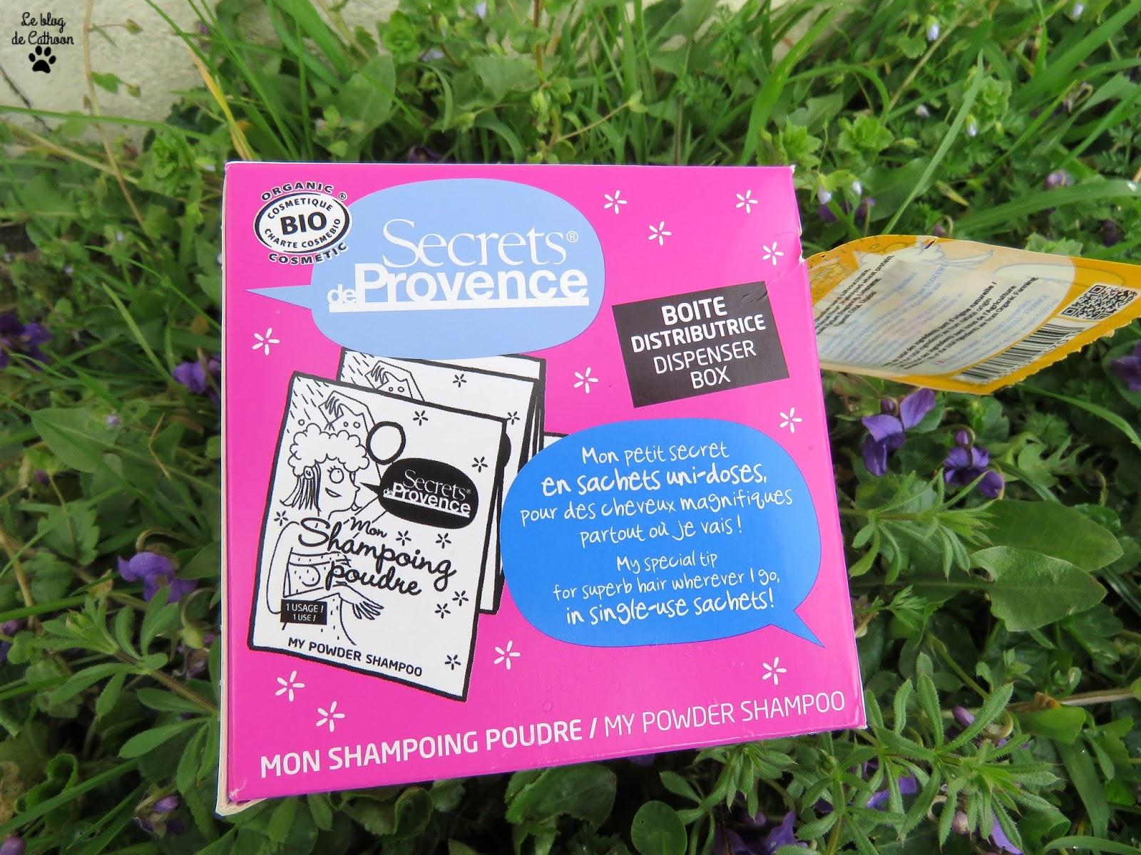 Mon Shampoing Poudre - Cheveux Normaux - Secrets de Provence
