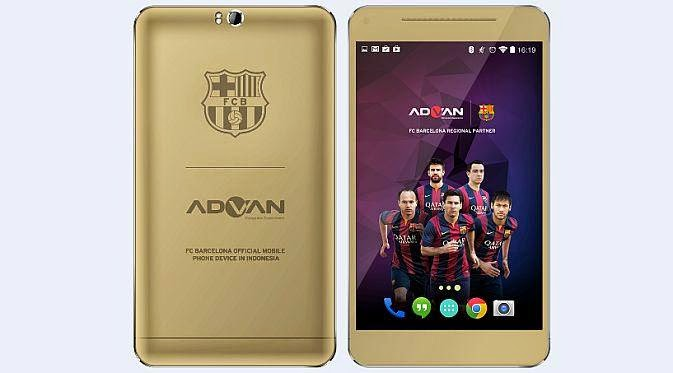 Advan Barca Series Pre-Order Mencapai 3000 Unit