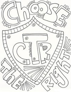 Choose The Right Coloring Page - Free Printable Coloring ...