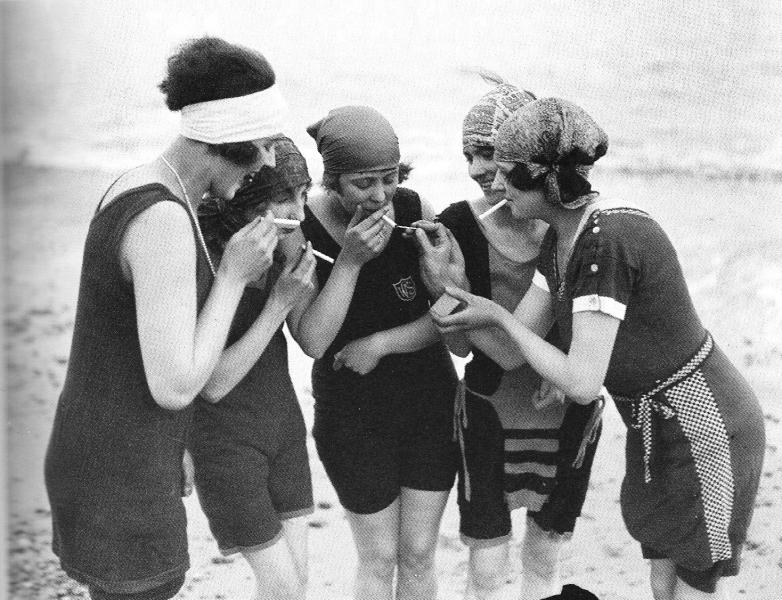 Naughty flappers, c. 1919-22 ~ vintage everyday