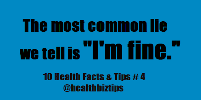 10 Health Facts & Tips # 4 @healthbiztips