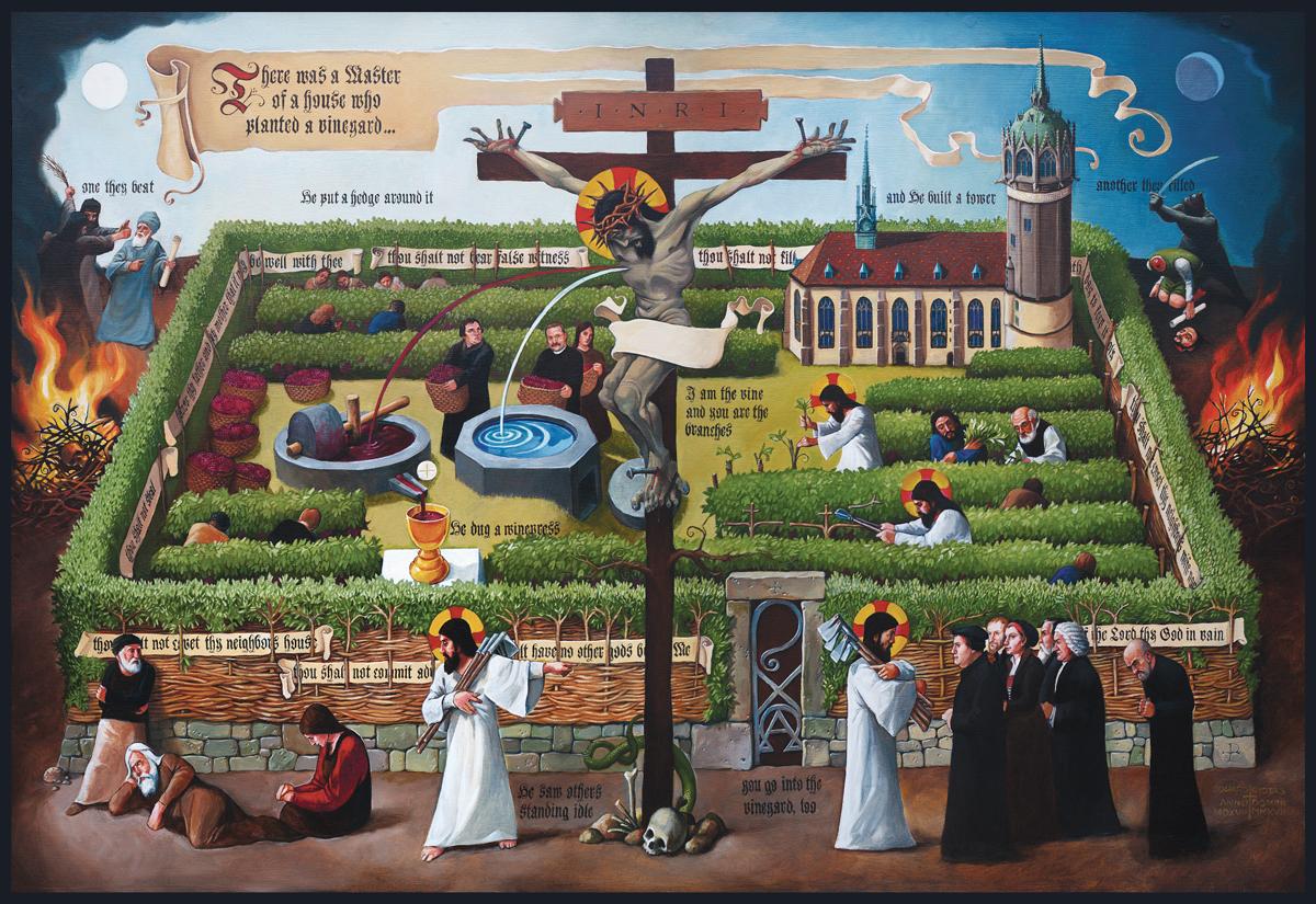 the art curmudgeon the kingdom of heaven is like a vineyard