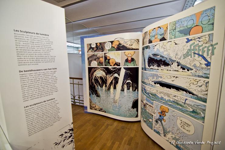 Comics Gigantes, Museo del Comic - Bruselas por El Guisante Verde Project