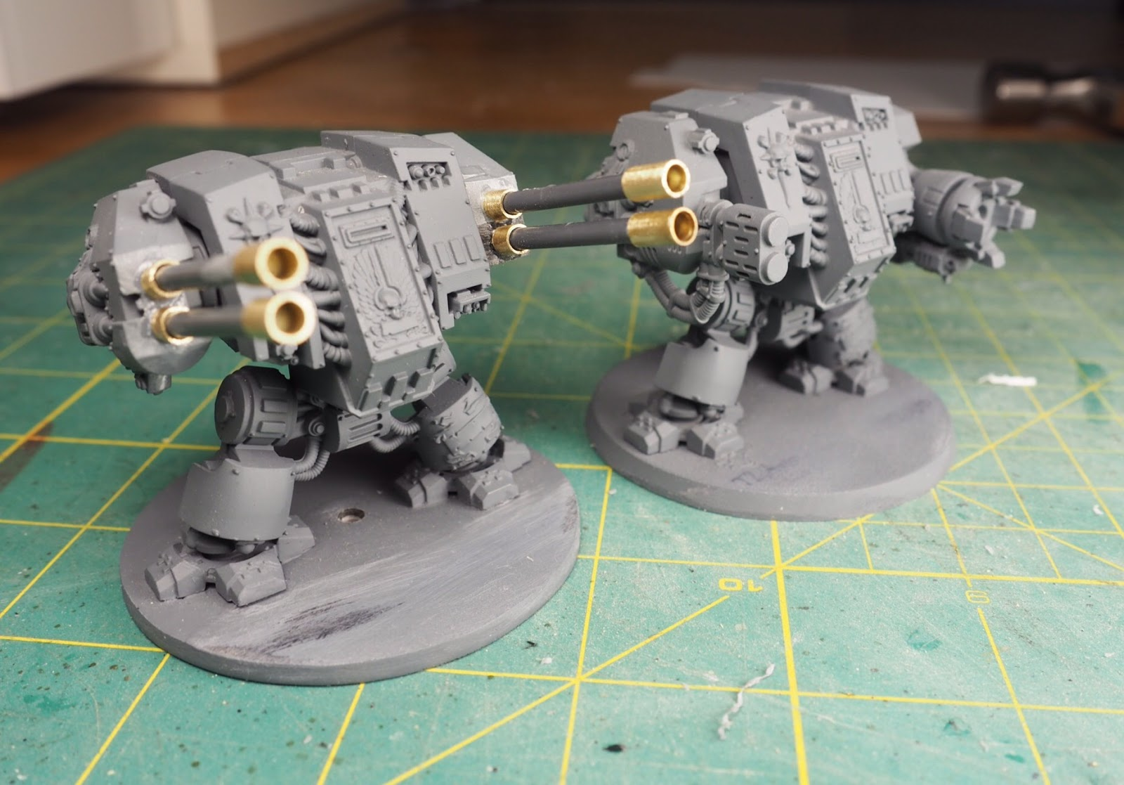 Warhammer Dreadnought Autocannon Arm Bits