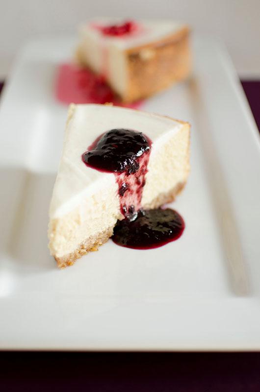 Cheesecake al sambuco