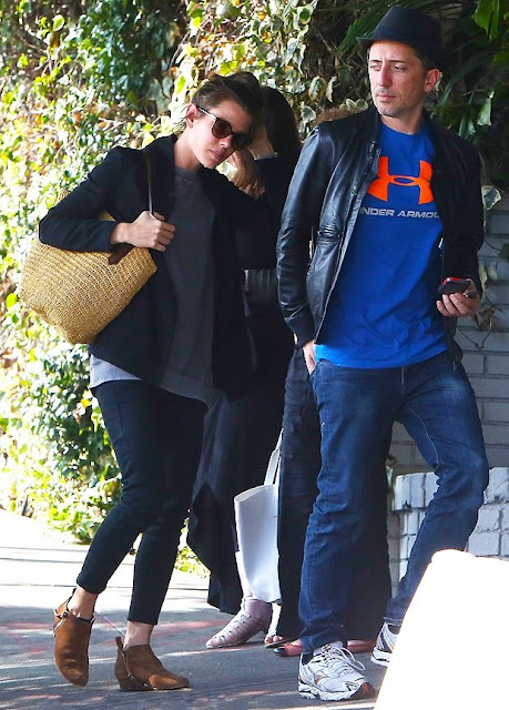 Charlotte Casiraghi and Gad Elmaleh the photographed together on February 20th, 2015 in Hollywood, Los Angeles