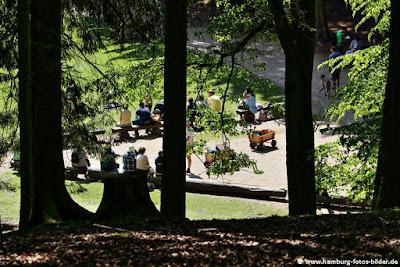 Picknickplatz im Wildpark Schwarze Berge