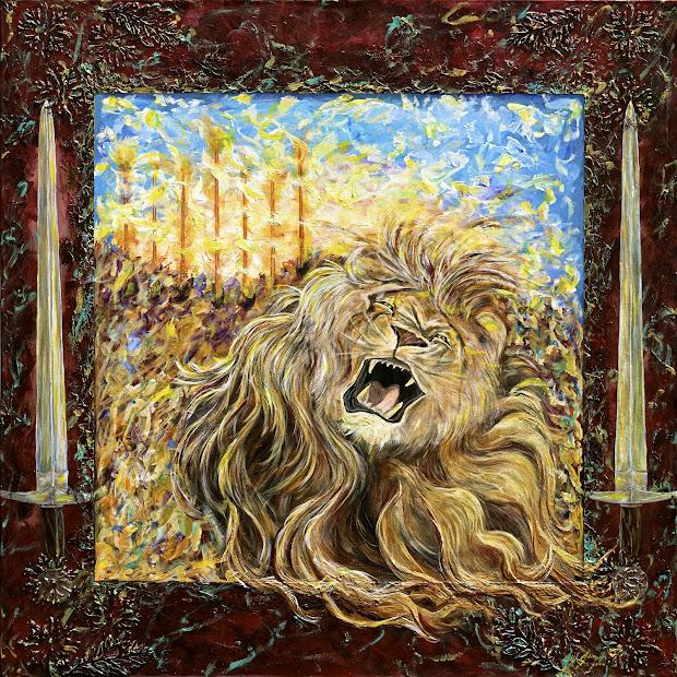 Christian Prophetic Art Painting