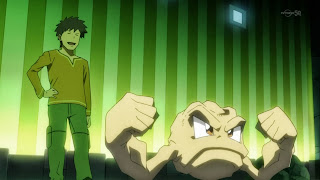 Pokemon the Origin Brock Pocket Monsters Takeshi Geodude