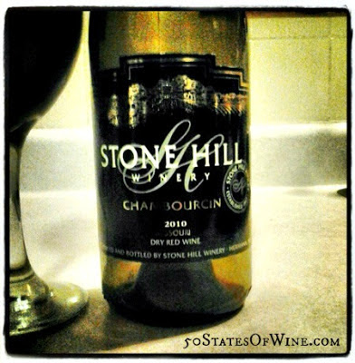2010 Stone Hill Winery Chambourcin