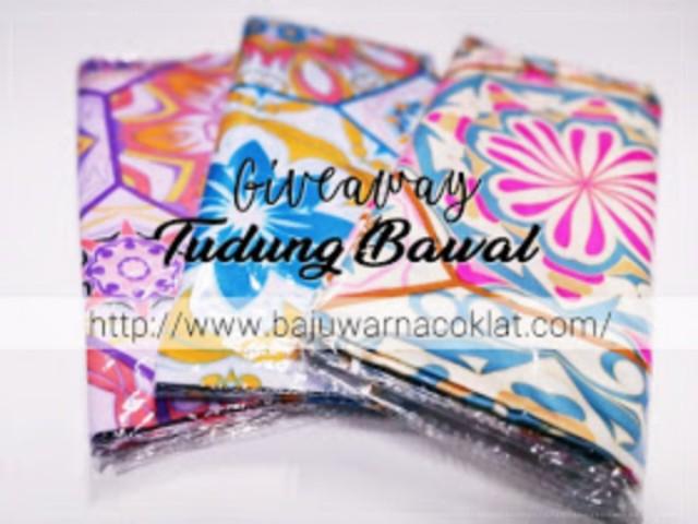 Giveaway Tudung Bawal by Cik Puan Rrai.