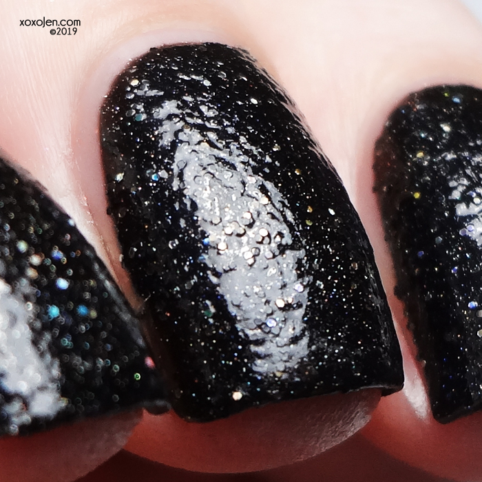 xoxoJen's swatch of Seventy Seven Lacquer I Love Rock N Roll