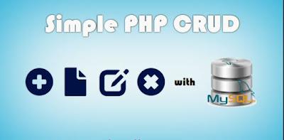 Cara Membuat CRUD sederhana dengan PHP MYSQL