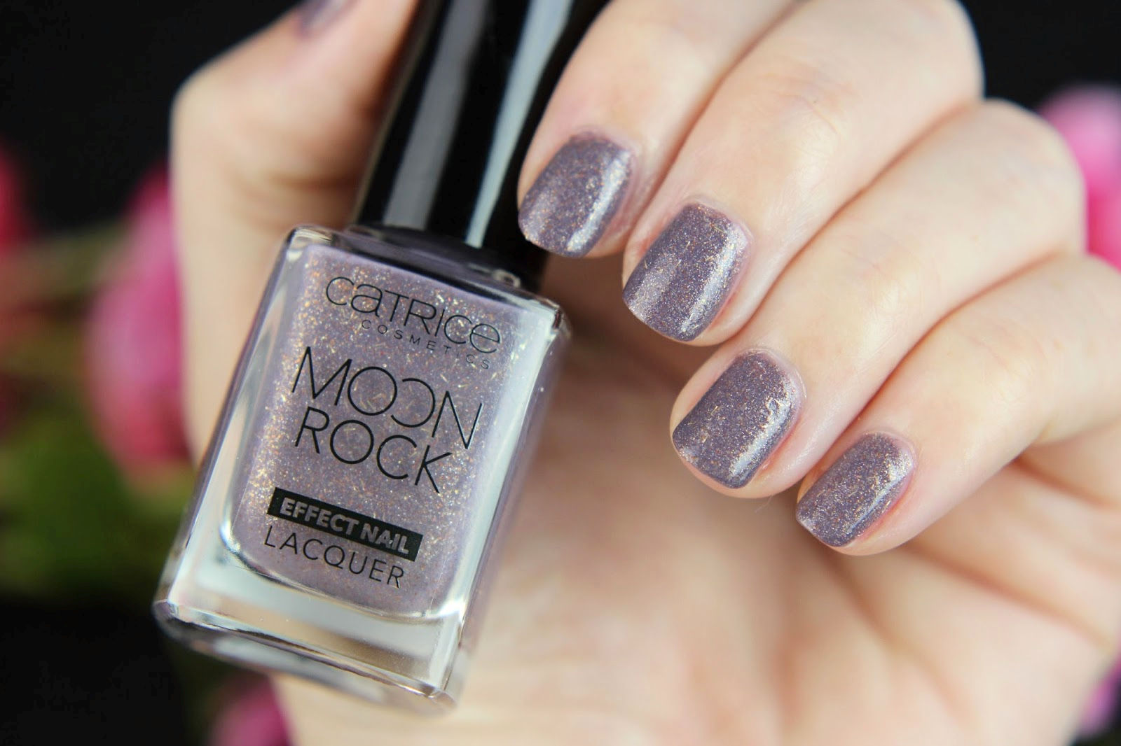 2016, CATRICE, drogerie, effect nail lacquer, glitzer, herbst, magical bluelight, moon rock, Moon Rock Effect Nail Lacquer, moonlight berriage, nagellack, nailpolish, neues sortiment, review, swatches, tragebilder,