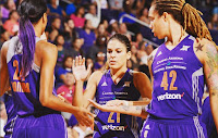 BALONCESTO (WNBA Playoffs 2016) - Atlanta Dream y Phoenix Mercury a 2ª Ronda con el adiós de Tamika Catchings