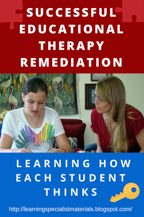 Using and Educational Therapist