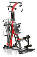 Bowflex PR3000 Home Gym, with 5 to 210 lbs of Power Rod resistance, upgradable to 310 lbs. vertical bench press, lat pull downs, multi use handgrips, ankle cuffs, roller cushions for leg extensions and leg curls