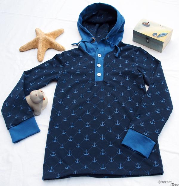 Maritimes Jungen Shirt