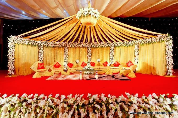 Double Wedding Ceremony Stage Design